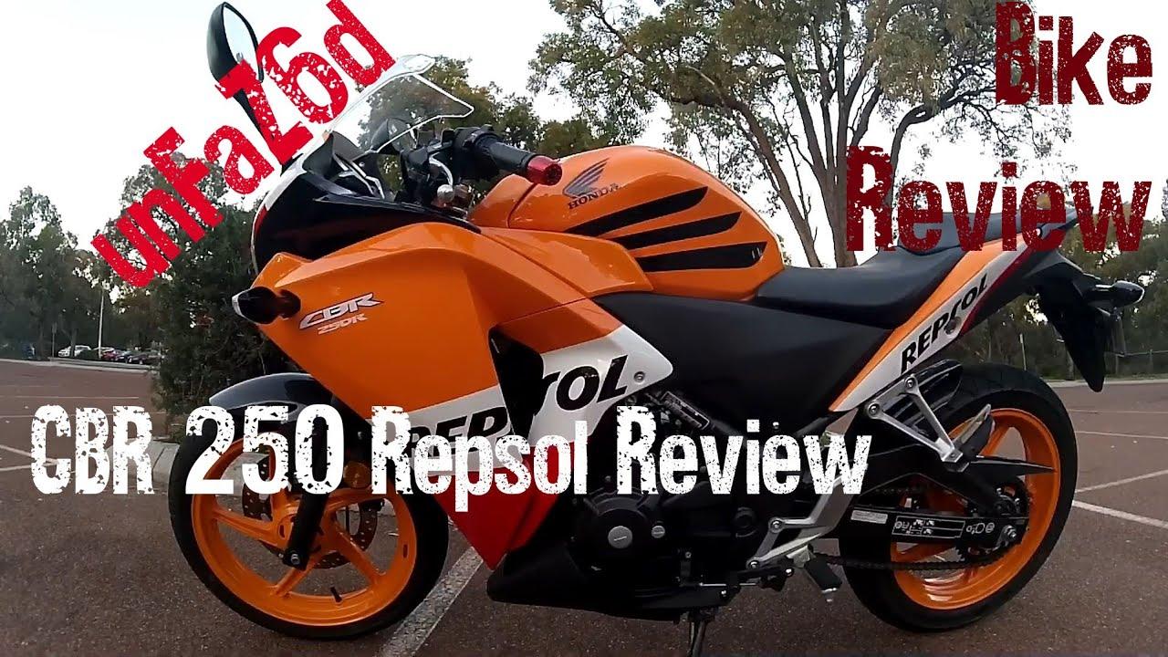 Honda CBR 250 Repsol Bike Review - YouTube