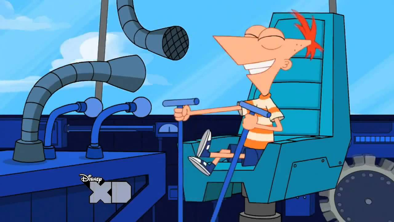 Phineas And Ferb Mix And Mingle Machine HD)