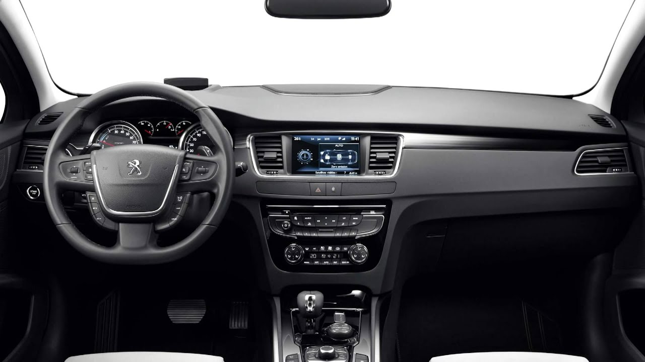 Image gallery 2013 peugeot 508 interior for Peugeot 6008 interieur