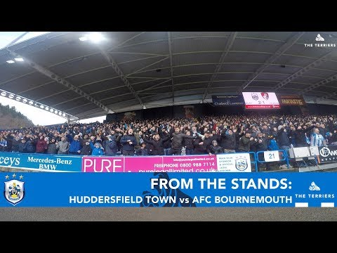 FROM THE STANDS: Huddersfield Town vs AFC Bournemouth