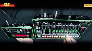 Roland - Aira TR-8 & TB-3 Maxxi Soundsystem Demo at GAK