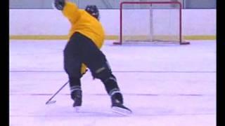 Катание на коньках Хоккей Быстрое перемещение вперед техники и упражнения
