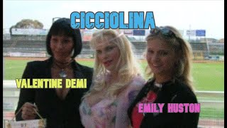 Cicciolina Emily Houston Valentine Demi press conference