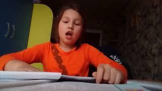 Делаю домашние уроки/ Что вам нравится это делать напишите мне в комментариях
