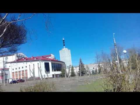 a walk along the embankment of the Northern Dvina.Arkhangelsk 12.06 2017 part1