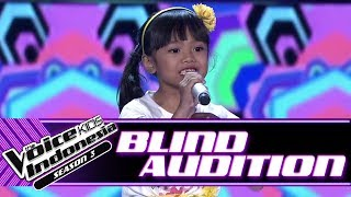 Charissa - Doo Be Doo | Blind Auditions | The Voice Kids Indonesia Season 3 GTV 2018
