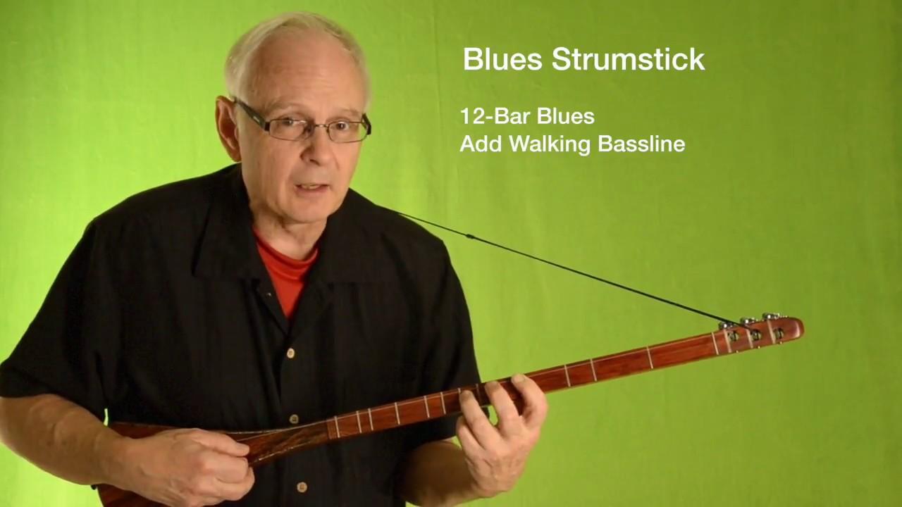 Blues Strumstick 15