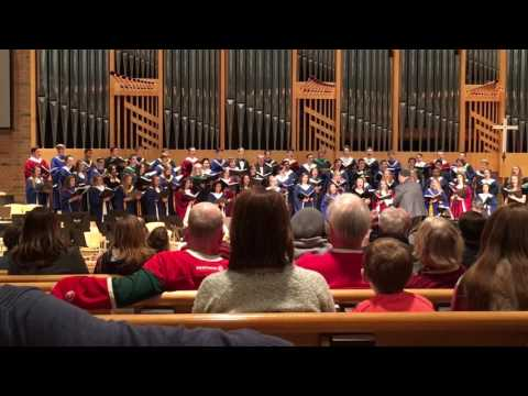 2017 Metro East All-Conference Choir - Love Is