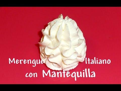 Merengue Italiano con Mantequilla - Italian Meringue Buttercream - 1a