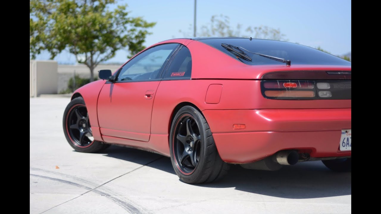 modified nissan 300zx twin turbo 2+2 - (one take) - youtube