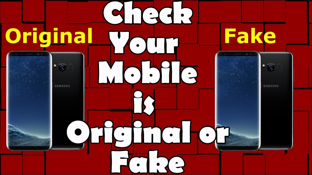 How to Check Samsung Original Phone – imei check samsung