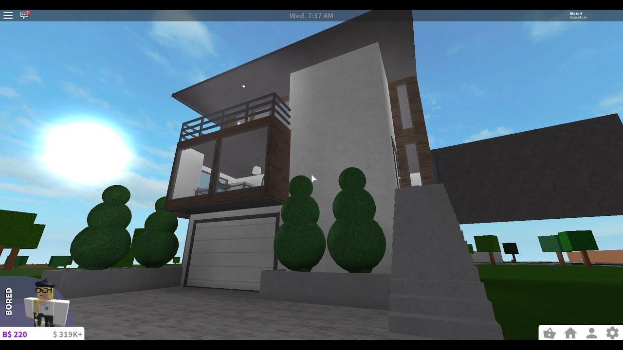 Bloxburg modern house tour