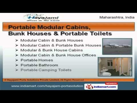 Portable, Prefabricated Houses And Cabins by Hayajami Porta Solutions Private Limited, Mumbai