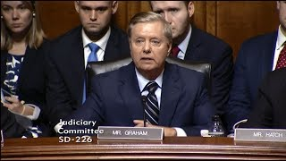 Graham Questions Judge Kavanaugh