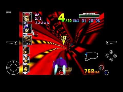 Mupen64 Plus AE Emulator 2.4.4 for Android - F-Zero X [720p HD] - Nintendo 64 - 동영상