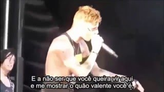 Andy Biersack Gives Out To a Hater  Legendado HD