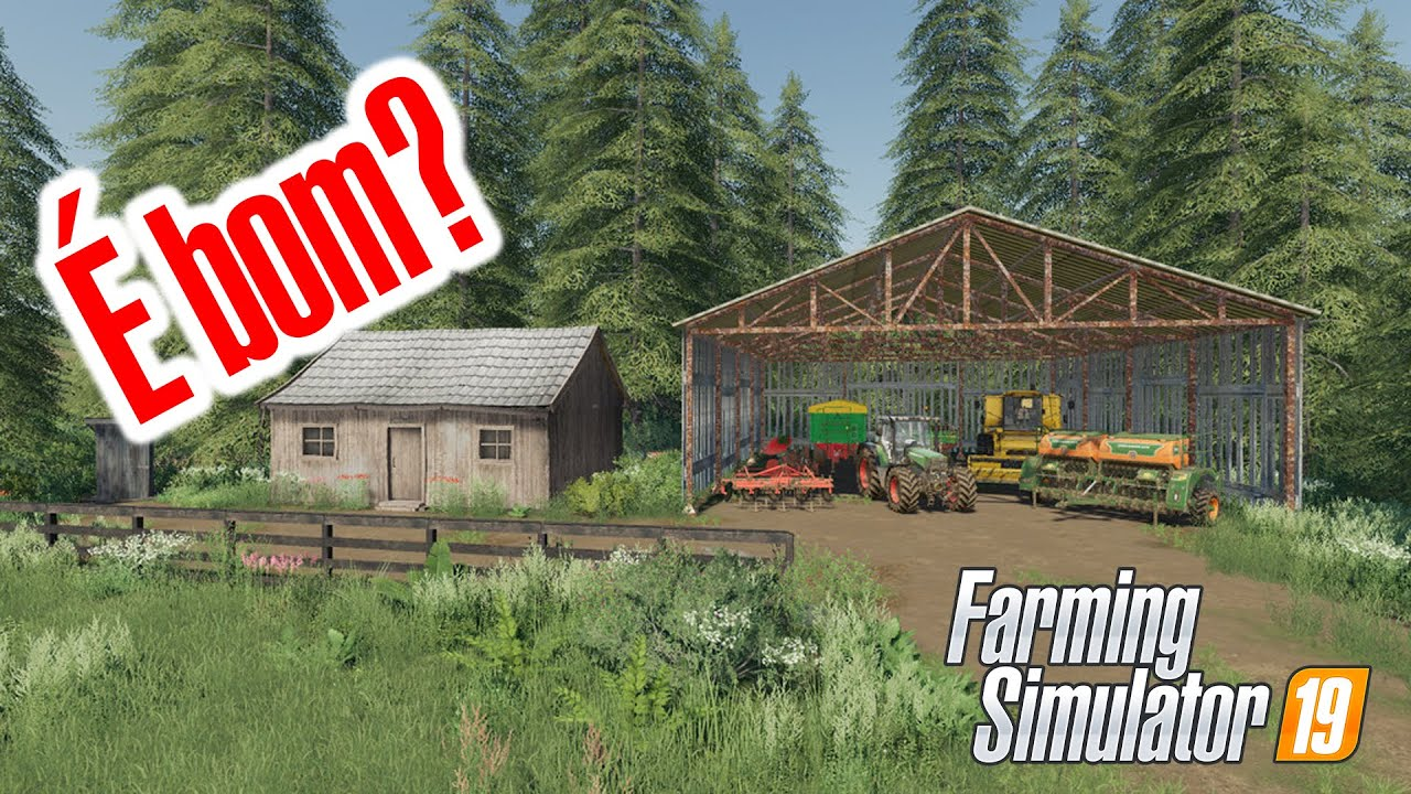 MELHORES MAPAS | No Man's Land para PS4, Xbox One e PC | Farming Simulator 19