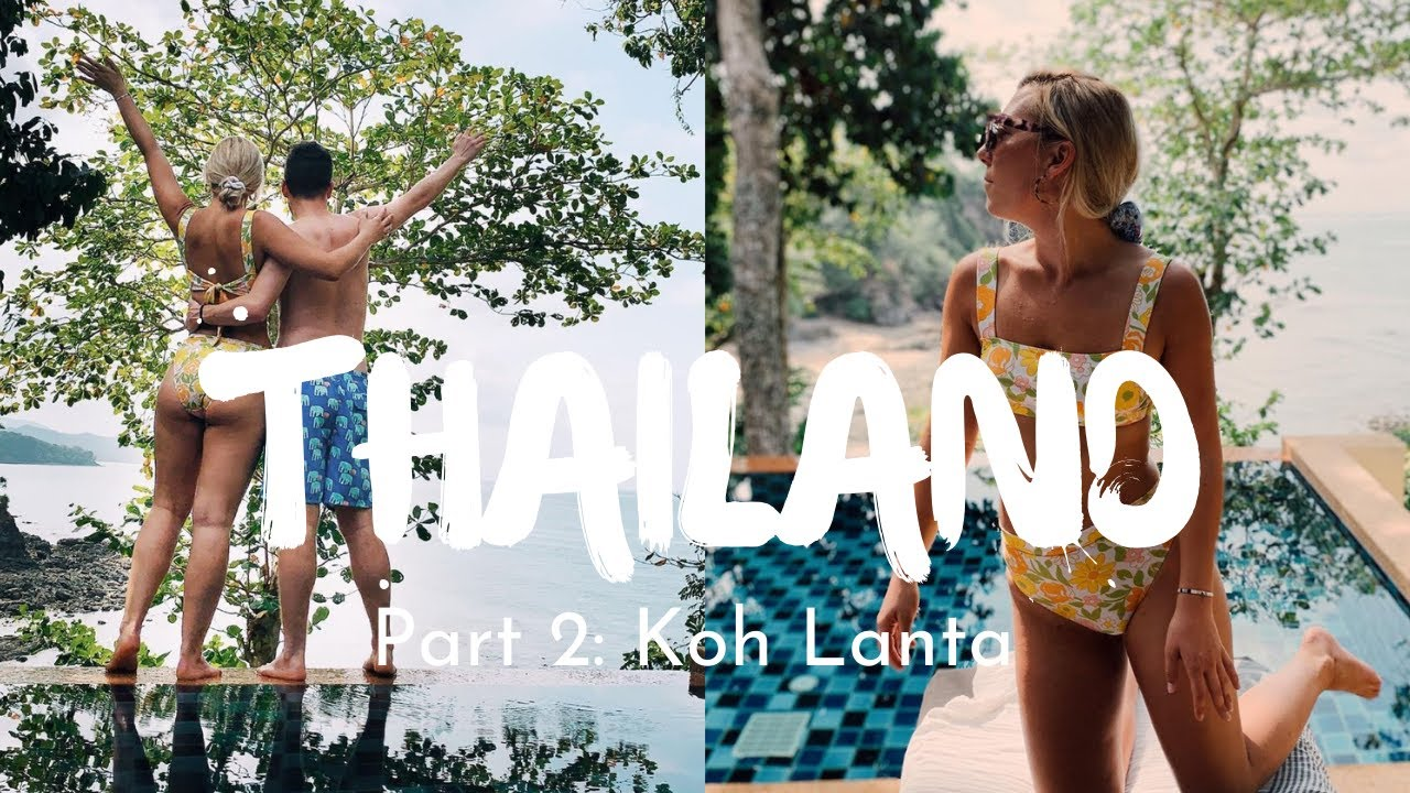 THAILAND VLOG PART TWO: Koh Lanta & Crown Lanta Resort