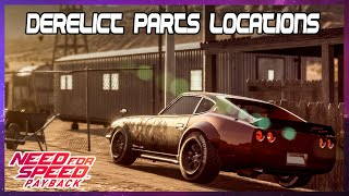 Hunt for League 73 derelict car Nissan Fairlady 240ZG 1971 - Need for Speed Payback (PS4)
