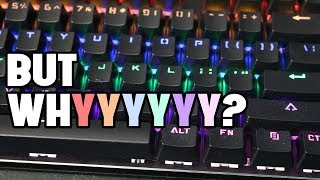 The Good, but Ugly, One-Up K8s Mechanical Keyboard Review