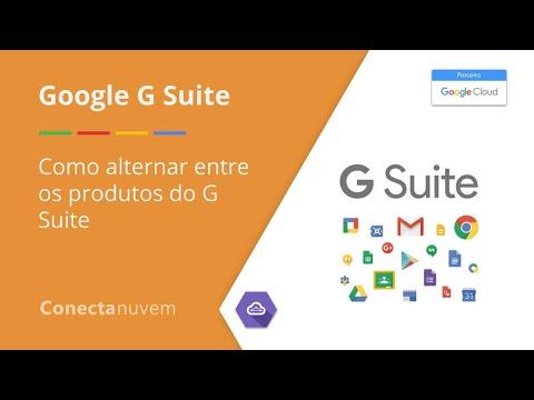 Como alternar entre os produtos do G Suite - G Suite