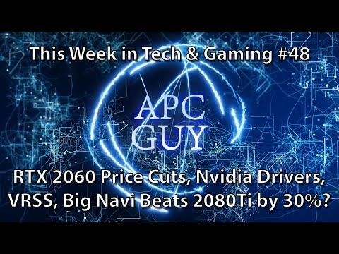 2080 TI Beaten by 30%, RTX 2060 Price Drops, AMD Using AMD CPUs - TWIT&G #48 -11/01/2020