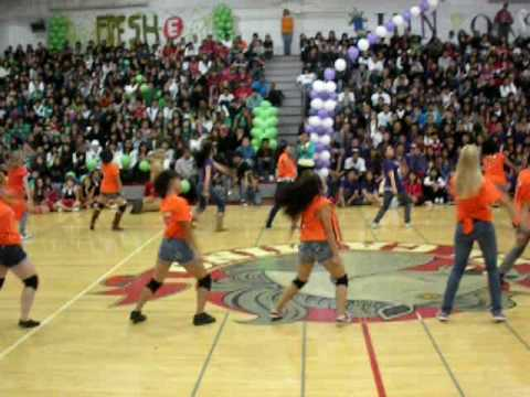 Advanced Dance Homecoming Rally 2009