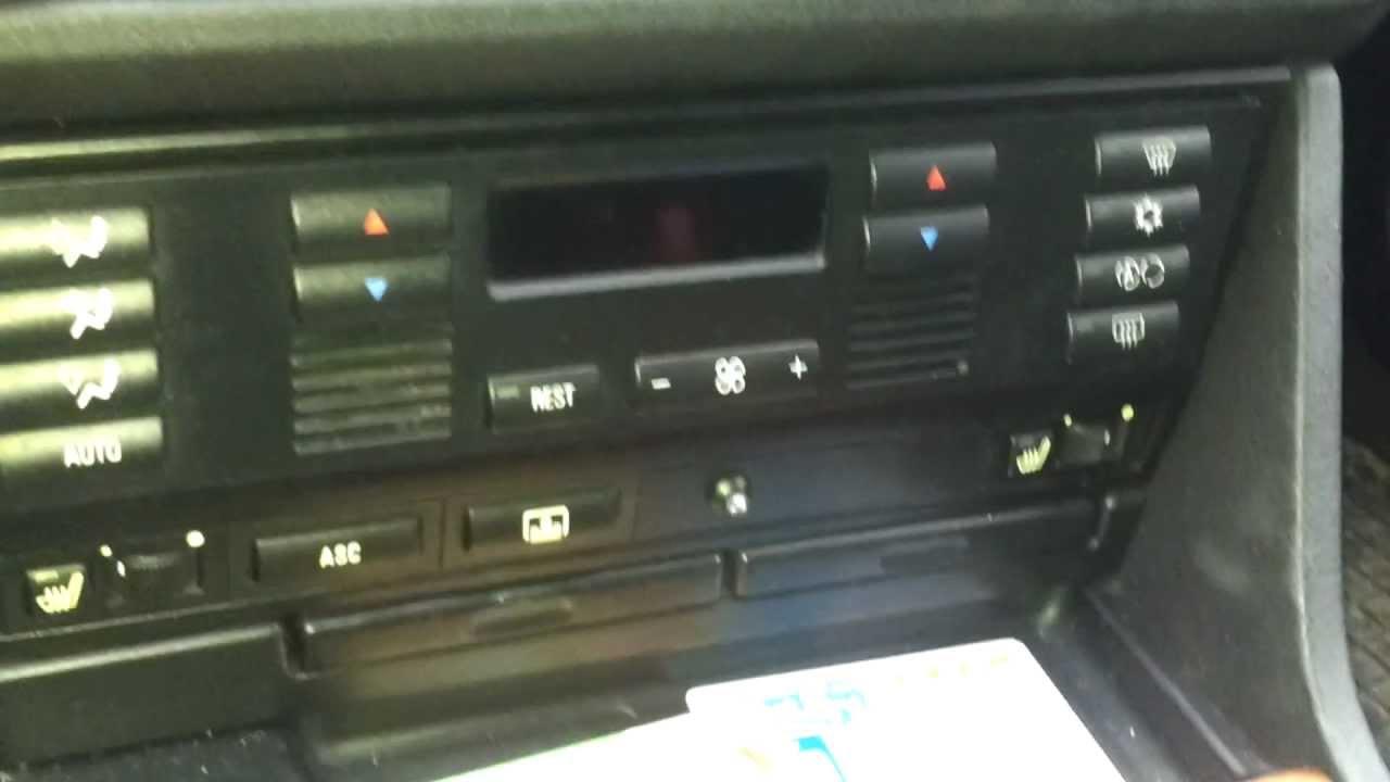 Demontaz Panelu Klimatyzacji Bmw E39 How To Remove Air
