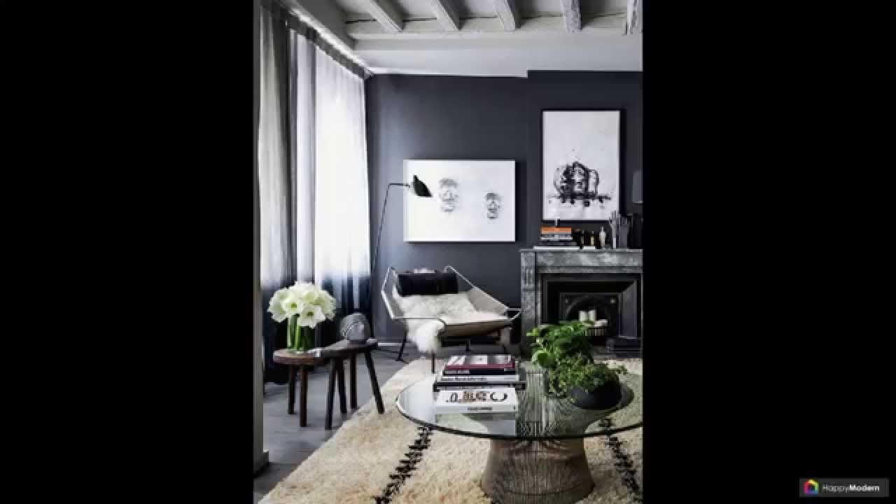 Zwart-wit woonkamer design (44 Foto): functies en de belangrijkste ...