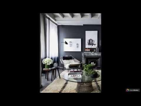 Дизайн черно-белой гостиной 44 вариантов
