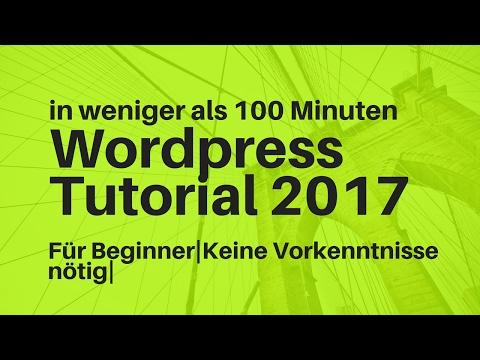 Wordpress Tutorial Deutsch 2017 | Impreza Theme |