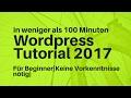 Wordpress Tutorial Deutsch 2017   Impreza Theme  