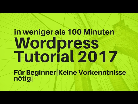 WordPress Tutorial Deutsch 2017 | Impreza Theme |