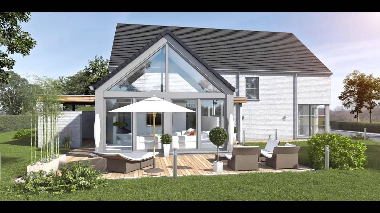 Projet 109 chacun sa maison neuve cl sur porte youtube for Maison neuve projet