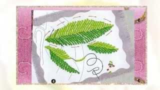 Вышивка бисером одежды  Бамбук