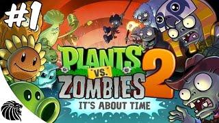 Plants vs. Zombies 2 - Gameplay -  EGITO ANTIGO 1-3 Android iOS [PT-BR]