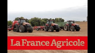 NEW :  Case IH Magnum AFS Connect en action