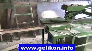 видео Станки для обработки горбыля