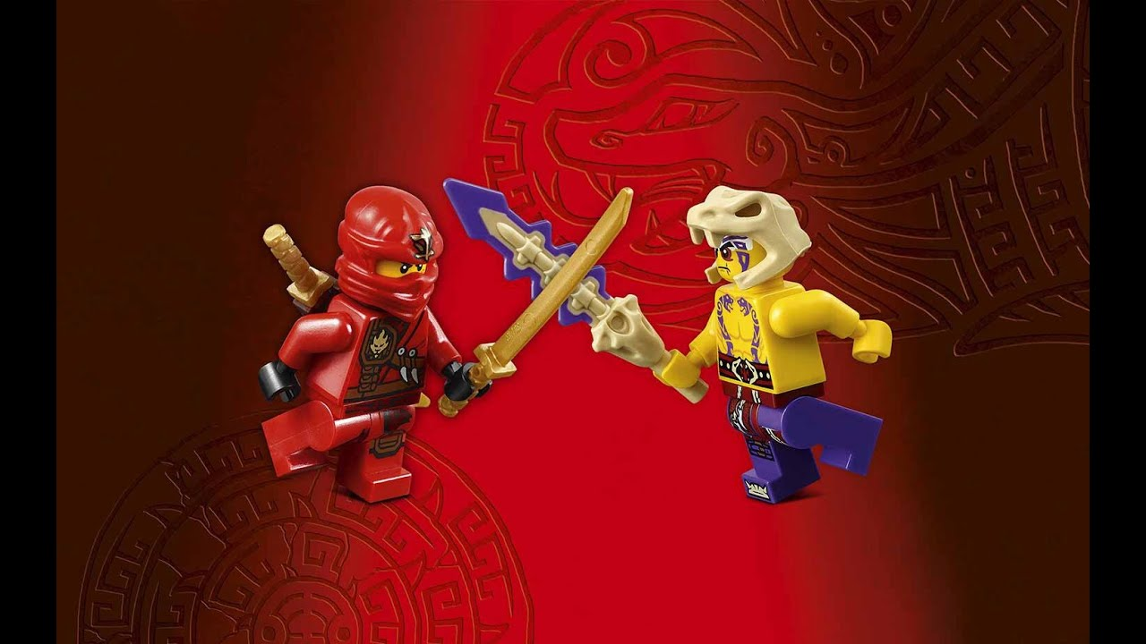 Lego ninjago kai vs krait youtube - Ninjago vs ninjago ...