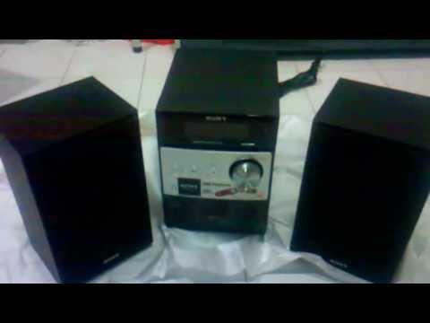 แกะกล่องมินิคอมโป Sony CMT-FX200