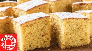 Апельсиновый пирог! Проще и вкуснее рецепта не найдете