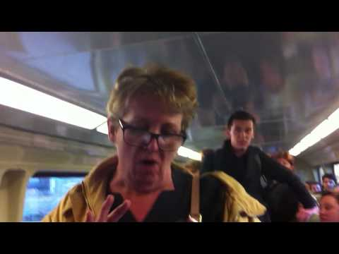 Lady hates children and other races on Newcastle train