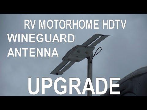 Wingard Rv Tv Antenna Maintenaince By Bug Smacker Doovi