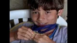 Юного футболиста без стоп отметил ФК Барселона