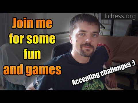 Join me for some fun and games - lichess.org