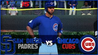 MLB 15 The Show Chicago Cubs Franchise Playoffs- NLDS Game 2 vs San Diego Padres