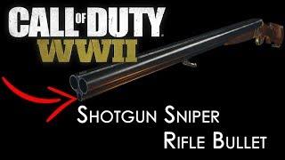 Insane Shotgun Sniper - (Call of Duty: WW2 Multiplayer Gameplay)