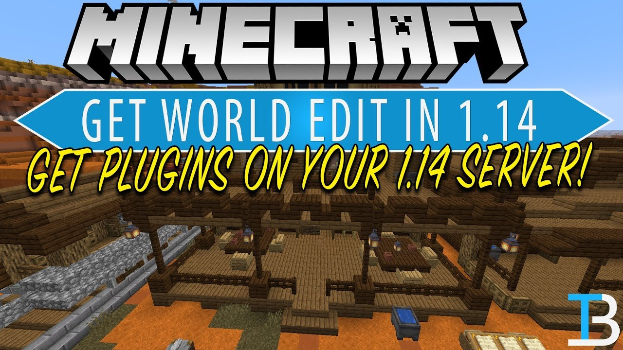 How To Add Plugins to A Minecraft 1 14 Server (Download & Install World  Edit in Minecraft 1 14!)
