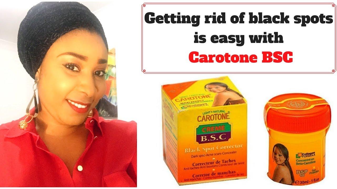Carotone black spot Corrector review: Fade off black spots