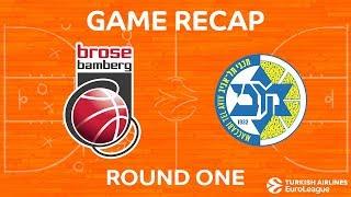 Highlights: Brose Bamberg - Maccabi FOX Tel Aviv